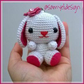 -amigurumi-bunny-anahtarlik-ucretsiz-desen-3 Amigurumi Bunny Anahtarlık Ücretsiz Desen