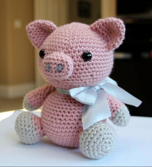 -amigurumi-kucuk-domuz-desen-7 Amigurumi Küçük Domuz Desen