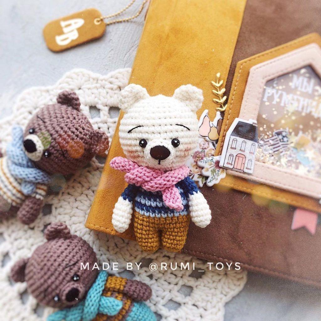-amigurumi-kucuk-kar-ayisi-3 Amigurumi Küçük Kar Ayısı