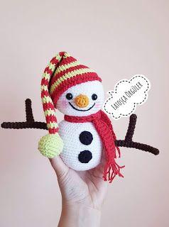 -amigurumi-kucuk-ve-sevimli-kardan-adam-2 Amigurumi Küçük ve Sevimli Kardan Adam