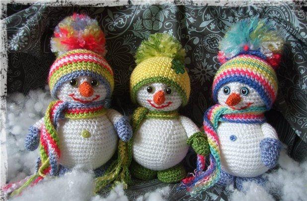 -amigurumi-kucuk-ve-sevimli-kardan-adam-7 Amigurumi Küçük ve Sevimli Kardan Adam