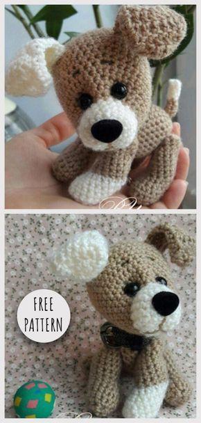 Amigurumi Küçük Köpek Ücretsiz Desen