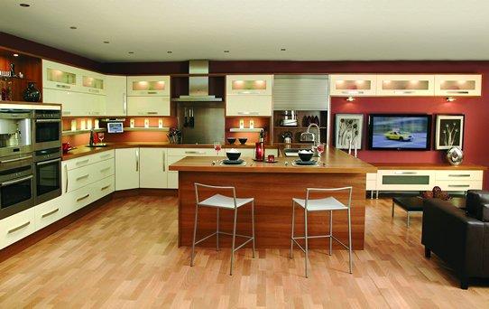 Amerikan açık mutfak modelleri