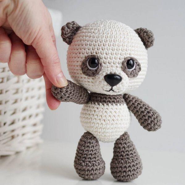 Amigurumi Panda Ücretsiz Desen (2)