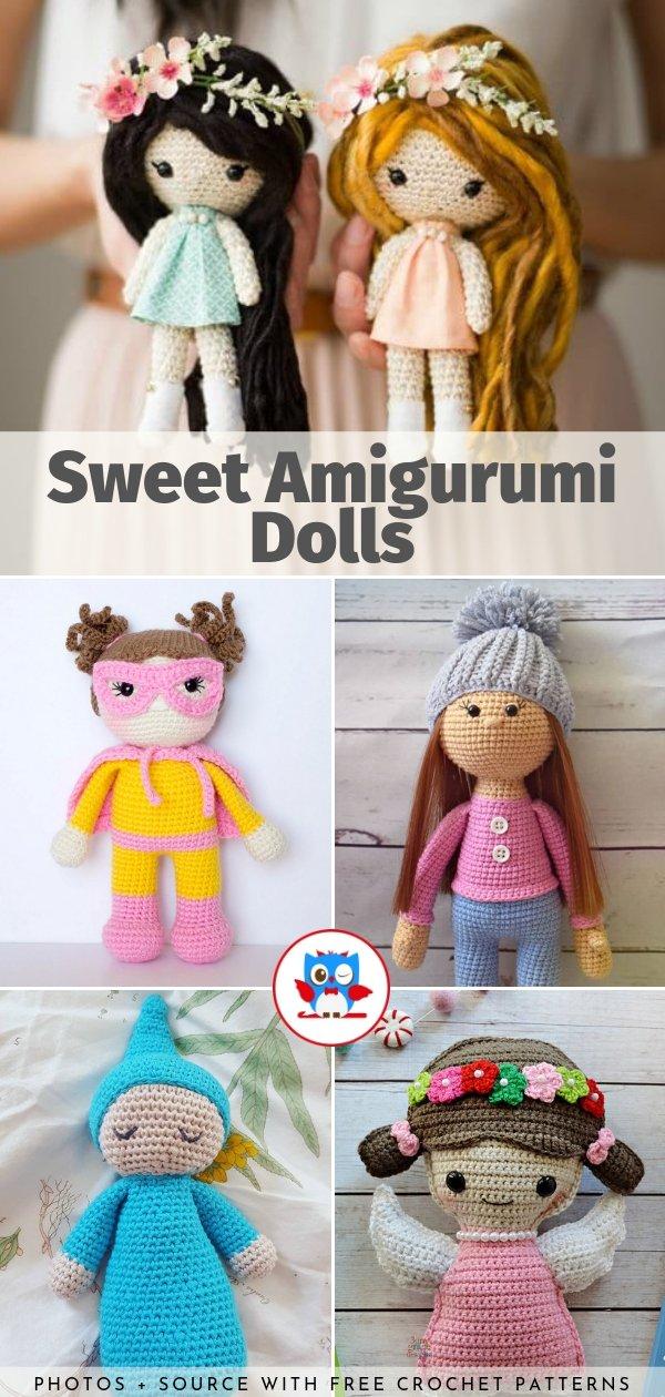 Amigurumi-Sweet-Doll-Ücretsiz-Desen-Kroşe-12 Amigurumi Sweet Doll Ücretsiz Desen Kroşe