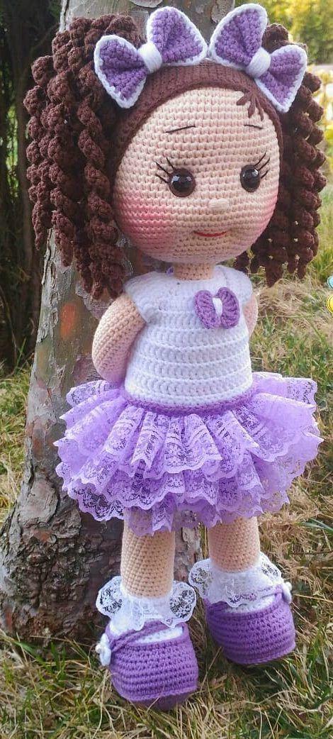 Amigurumi-Sweet-Doll-Ücretsiz-Desen-Kroşe-2 Amigurumi Sweet Doll Ücretsiz Desen Kroşe