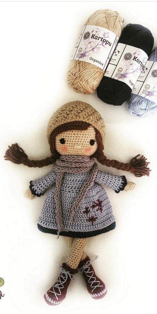 Amigurumi-Sweet-Doll-Ücretsiz-Desen-Kroşe-8 Amigurumi Sweet Doll Ücretsiz Desen Kroşe