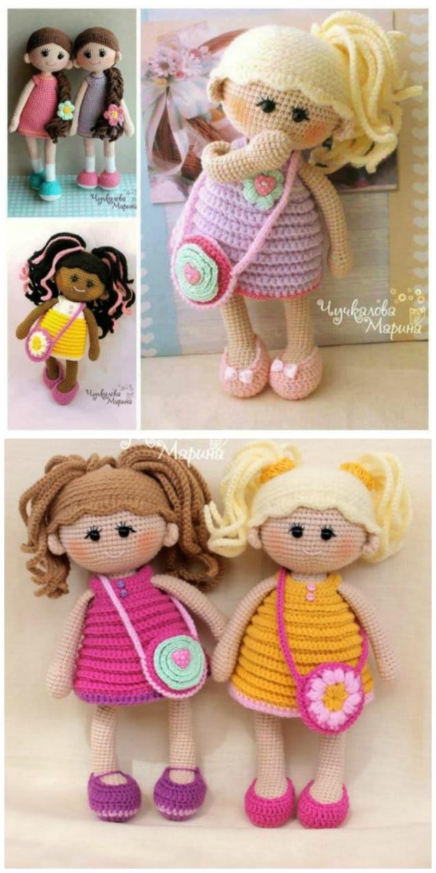 Amigurumi-Sweet-Doll-Ücretsiz-Desen-Kroşe-9 Amigurumi Sweet Doll Ücretsiz Desen Kroşe