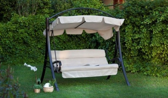 Bahçe-Tenteli-Salıncak Bahçeler Tenteli Salıncak Modelleri