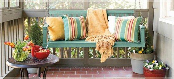 Balkon-tipi-salıncak Balkon Salıncakları