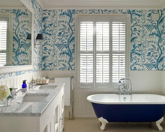 Banyoda-Duvar-Kağıdı-Kullanılır-Mı-4 Suya Dayanıklı Banyo Duvar Kağıdı Modelleri