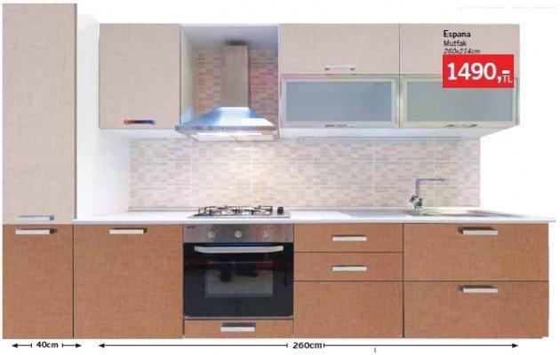 Bauhaus Espana Hazır Mutfak