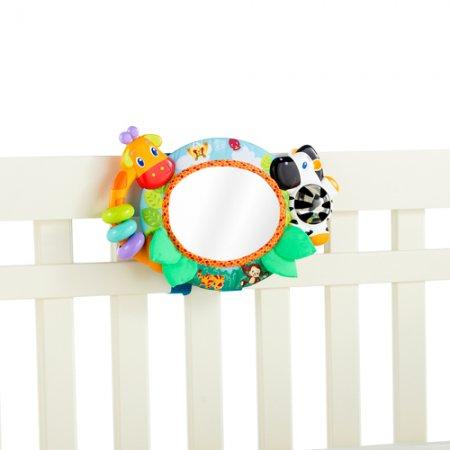 Bebek-Odası-Renkli-Çerçeveli-Ayna-Modeli Bebek Odaları İçin Dekoratif Aynalar