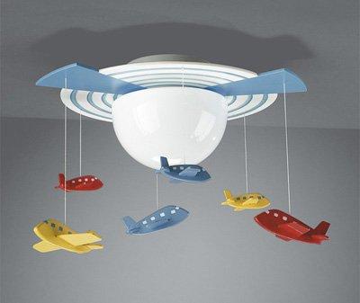 Bebek-Odası-Uçak-Avize-Modeli Bebek Odası Avizeleri