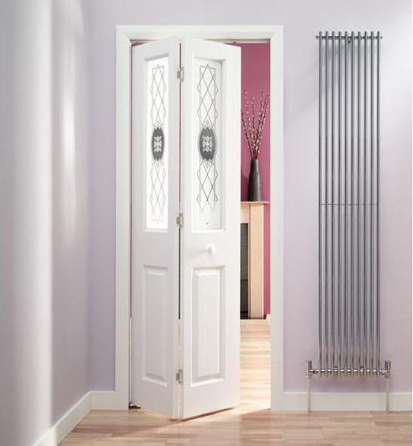 Beyaz-Banyo-Katlanır-Kapısı Katlanır Kapı Modelleri
