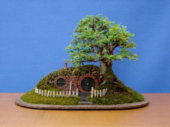 Bonzai-Ağacı-Aksesuarı Bonsai Ağacı İle Dekorasyon