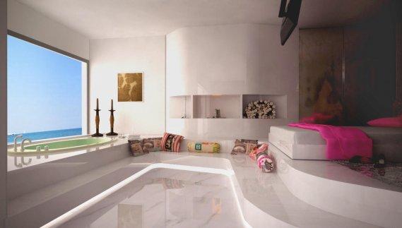 Cam-Kenarı-Jakuzili-Yatak-Odası-Tasarımı Jakuzili Yatak Odaları