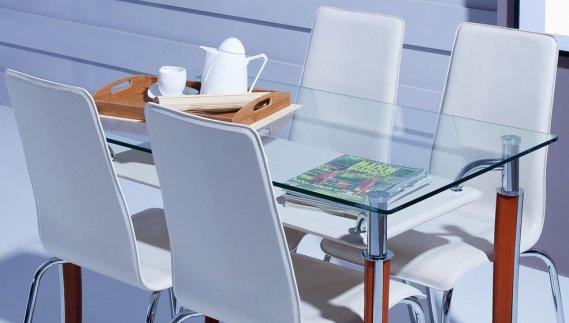 Cam mutfak masası tasarımı
