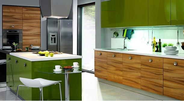 Daira-Tiepolo-Ceviz-Lisa-Yeşil Kelebek Mutfak Modelleri 2018