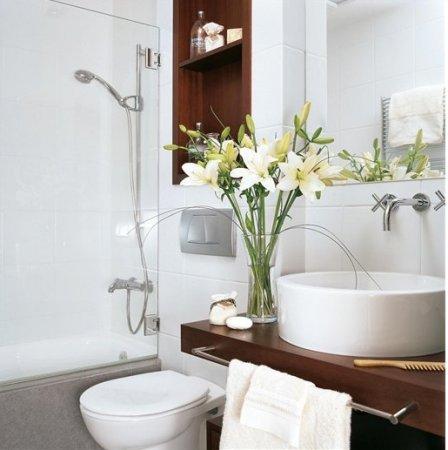 Dekoratif-Banyo-Yapma-Çiçek-Dekorasyonu Yapma Çiçek Modelleri