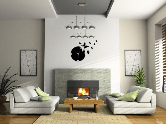 Dekoratif Duvar Saati Örneği