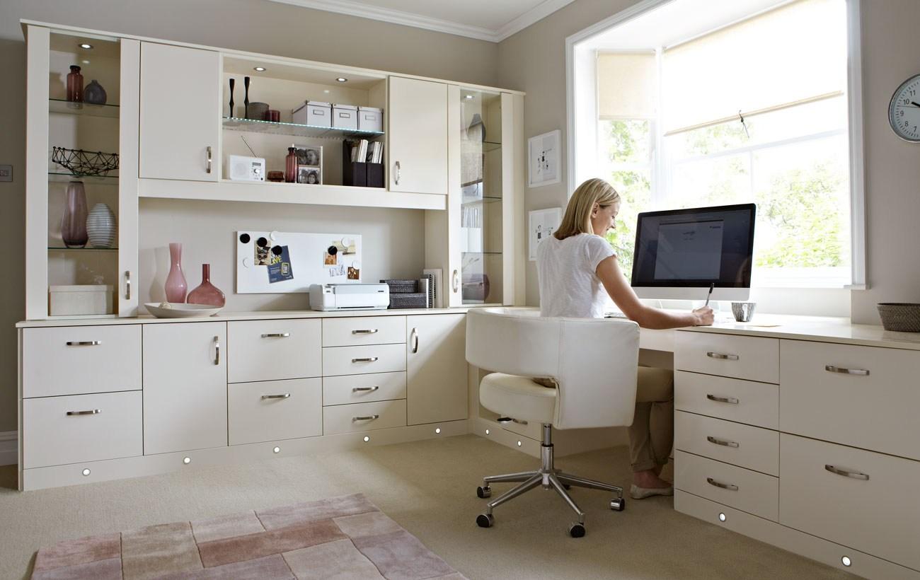 Dekoratif-Görünümlü-Home-Ofis-Mobilya Home Ofis Mobilya Modelleri Örnekleri