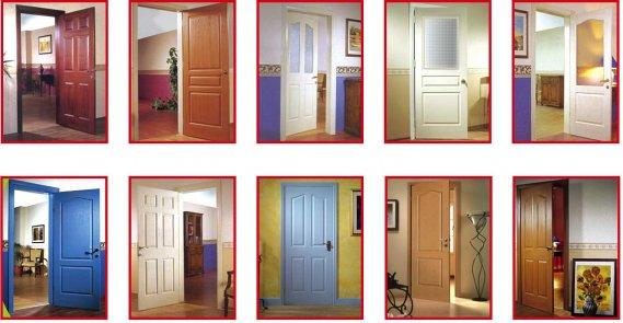 Dekoratif Renkli Kapı Modelleri