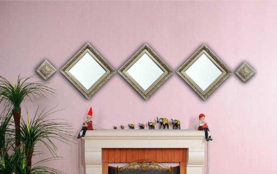 Dekoratif-Varak-Ayna-Tasarımları Dekoratif Varak Ayna