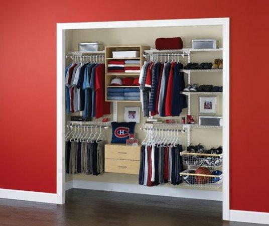 Elbise-kıyafet-odası-modeli Kıyafet Odası Tasarımları