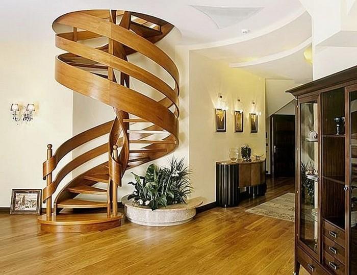 En-Güzel-Yuvarlak-Ev-Merdiveni En Güzel Modelli Merdivenler