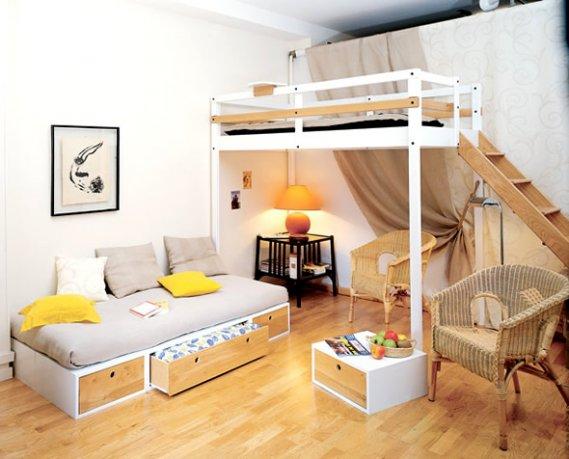 Estetik-İlginç-Genç-Odası İlginç Genç Odaları