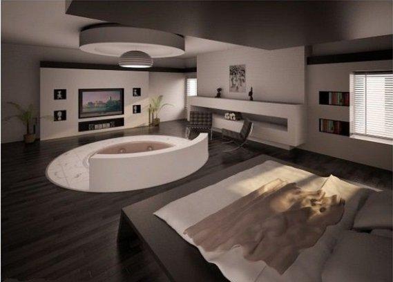 Estetik-Jakuzili-Yatak-Odası Jakuzili Yatak Odaları