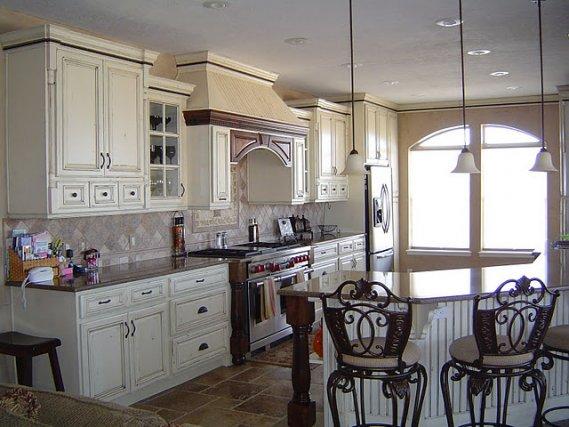 Estetik Rustik Mutfak Dolabı