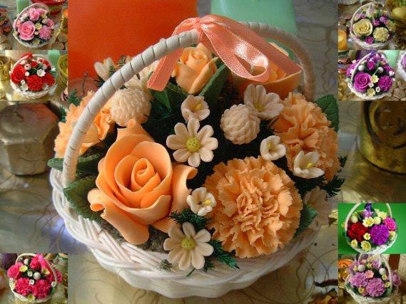 Estetik Yapma Çiçek Modeli