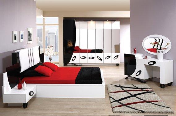 Estetik Yatak Odası Halısı