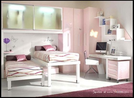 Estetik-genç-kız-odası-modeli İlginç Genç Odaları