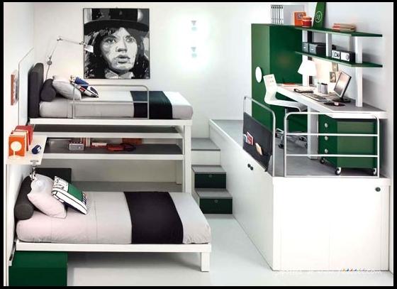 Farklı-bir-genç-odası-tasarımı İlginç Genç Odaları