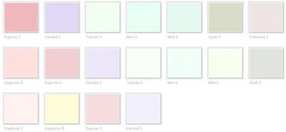 Filli Boya Renk Kataloğu 2013 11