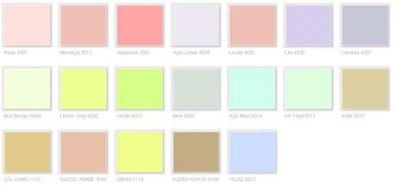 Filli Boya Renk Kataloğu 2013 2