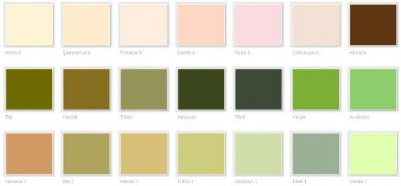 Filli Boya Renk Kataloğu 2013 5