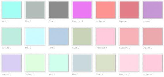 Filli Boya Renk Kataloğu 2013 9