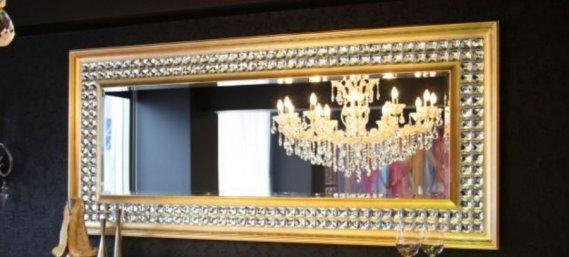 Gümüş-Varak-Ayna-Modelleri Dekoratif Varak Ayna