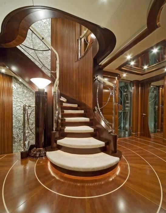 Güzel-Ahşap-Merdiven-Çeşidi En Güzel Modelli Merdivenler