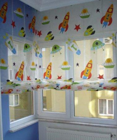 Güzel-Bebek-Odası-Perdesi Bebek Odası Perde Modelleri
