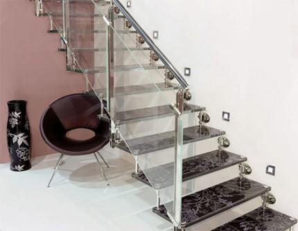 Güzel-Cam-Kenarlı-Merdiven En Güzel Modelli Merdivenler