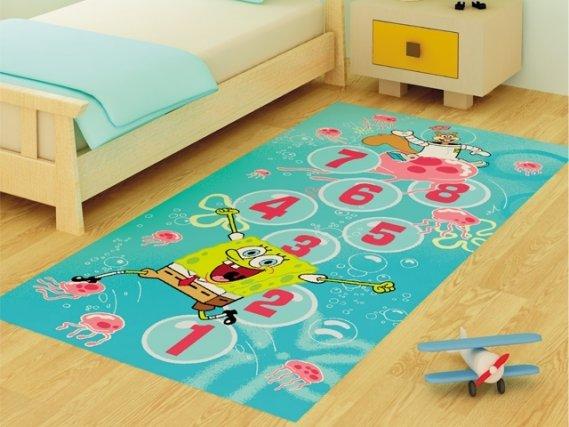 Güzel Görünümlü Çocuk Odası Halısı
