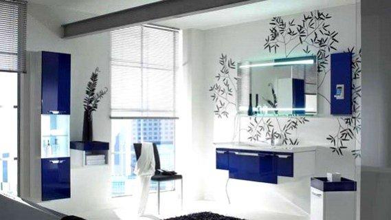 Güzel-Modern-Banyo-Aynası-Fotoğrafı Modern Banyo Aynası Tasarımları