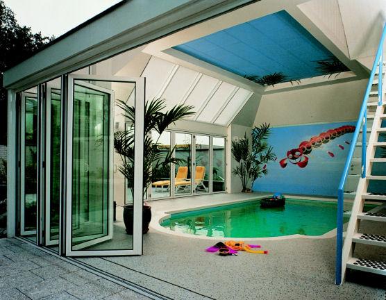Havuz-Katlanır-Kapı-Tasarımı Katlanır Kapı Modelleri
