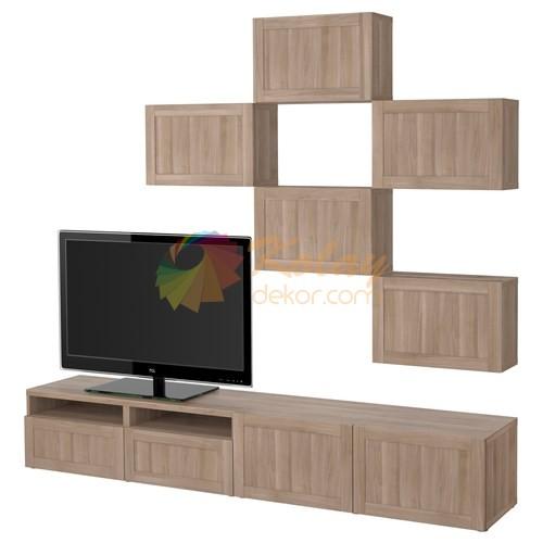 IKEA-2015-TV-Unitesi-Modelleri-4-Besta-Hanviken IKEA 2018 TV Ünitesi Modelleri