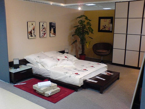 Japon-Tarzı-Yatak-Odası-Dekoru Japon Tarzı Yatak Odaları